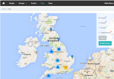 Forum map