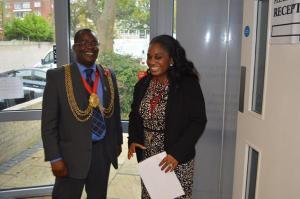 Mayor and Beverley