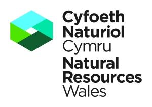 Logo Natural Resource Wales for Beach School stuff