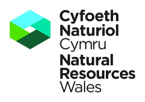 Logo Natural Resource Wales for Beach School stuff