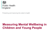 PHE mental wellbeingCYP